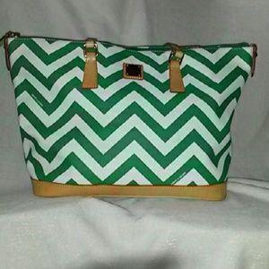 Dooney & Bourke chevron purse
